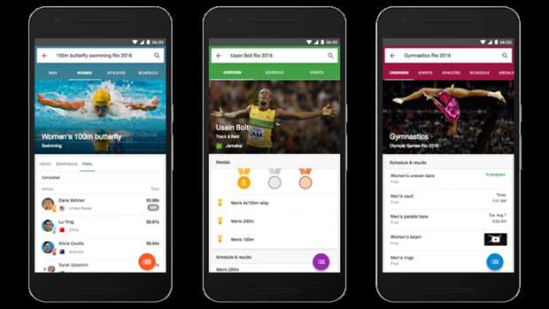 Google steps up for Rio Olympics