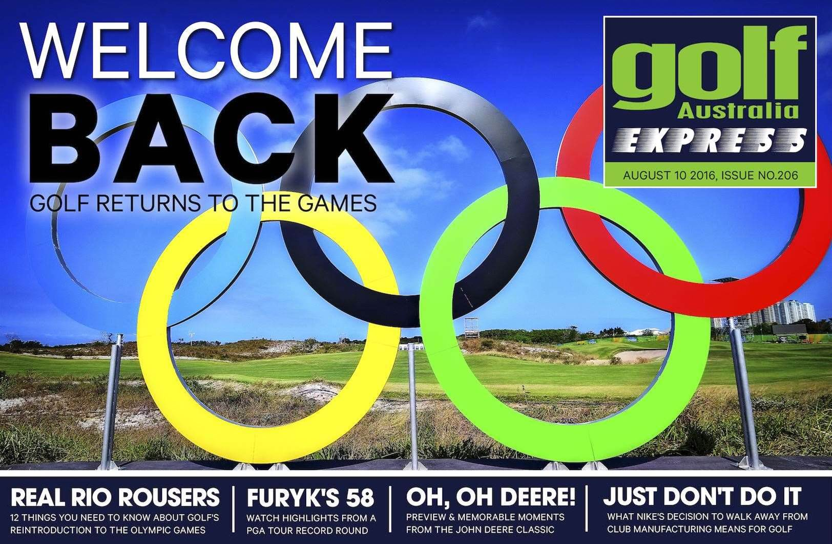 GA Express Issue 206: Golf Goes To Rio