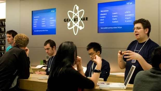 Apple turns down an actual genius for Genius Bar job