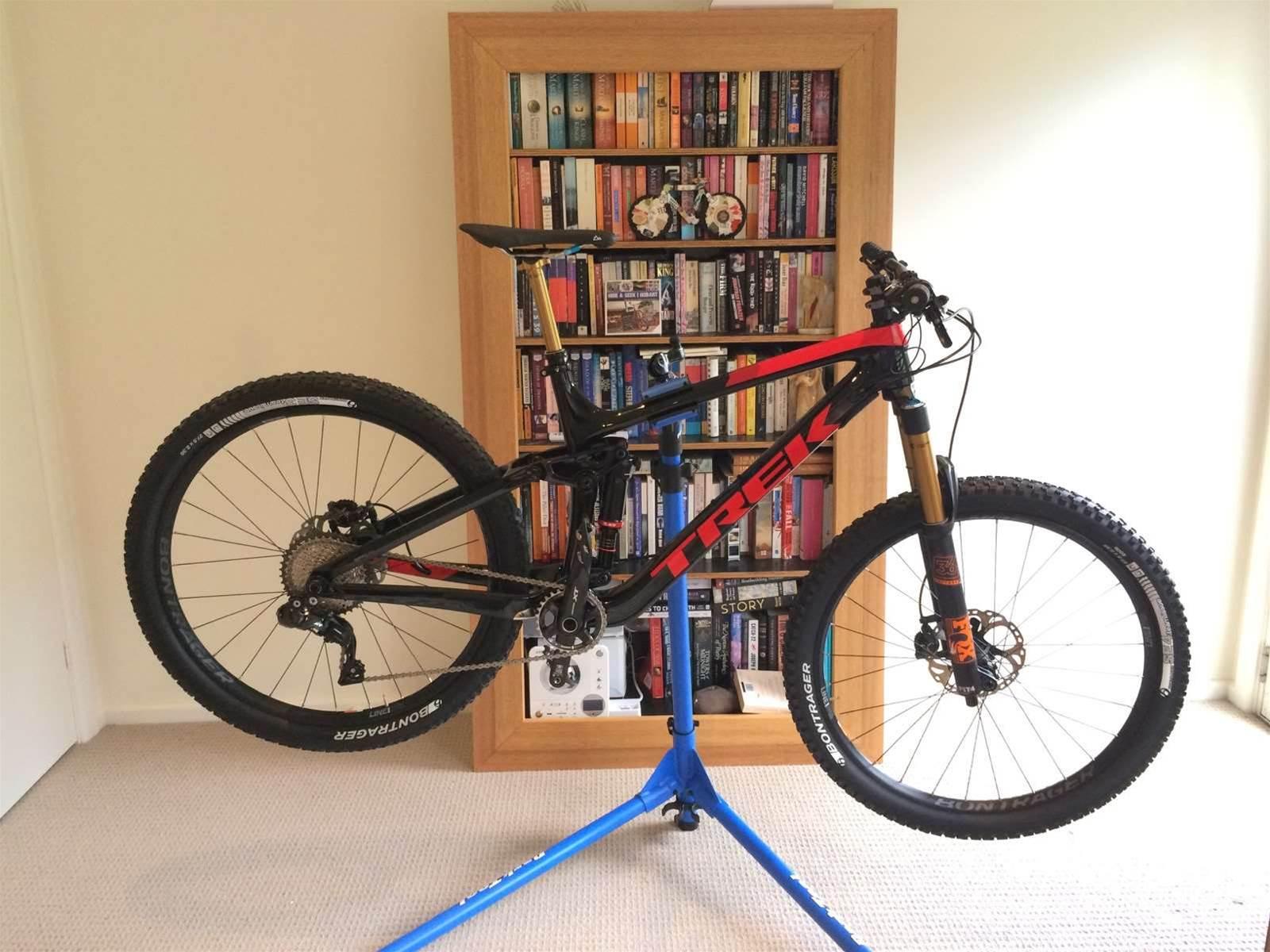 The Trek Remedy Di2 super bike - unveiled