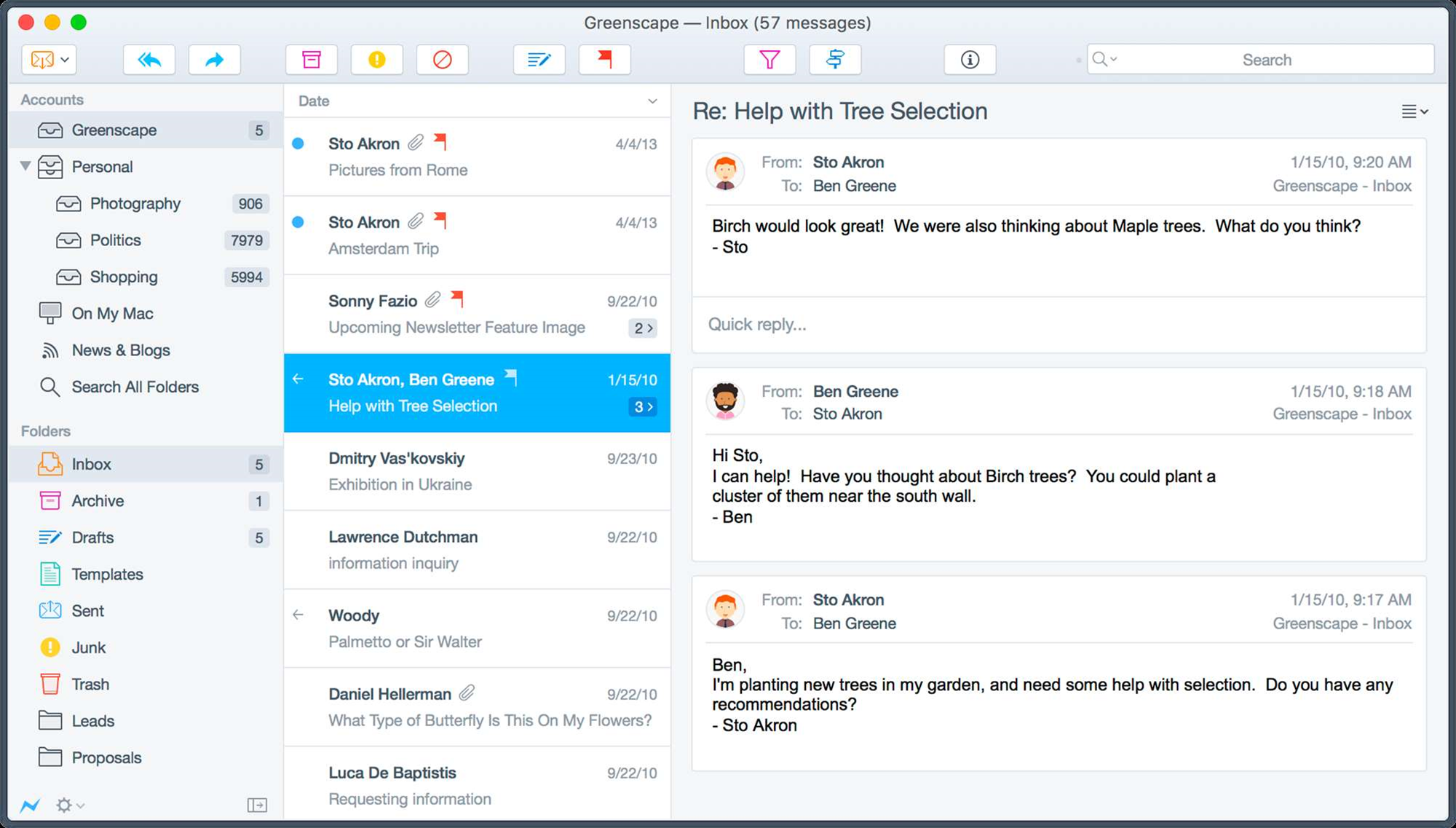 Postbox 5 adds dynamic content support, anti-tracking features