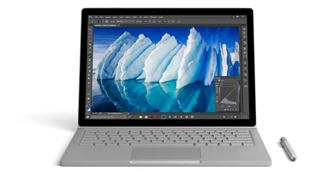 Microsoft soups up the Surface Book with i7 processor and 16 hours of battery