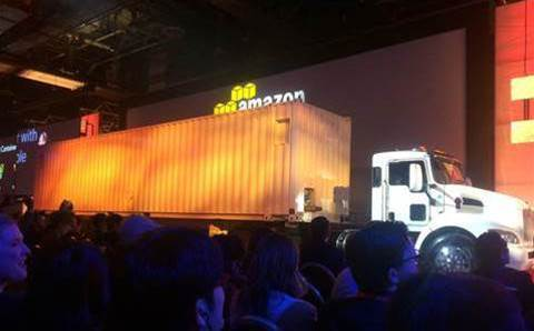 Amazon Web Services' will migrate 100PB with a truck