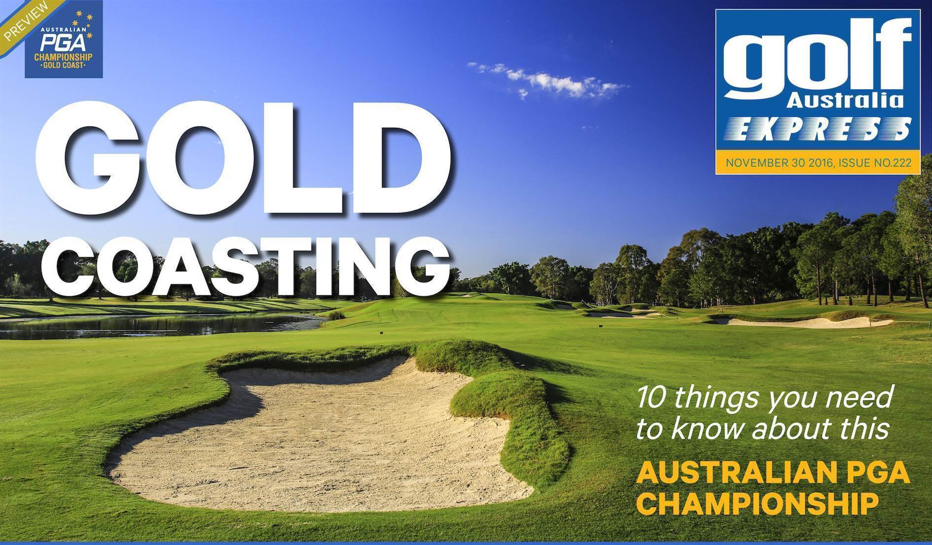 GA Express Issue 222: Australian PGA Preview Issue