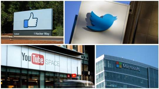 Facebook, Google, Twitter and Microsoft join forces to tackle extremist content