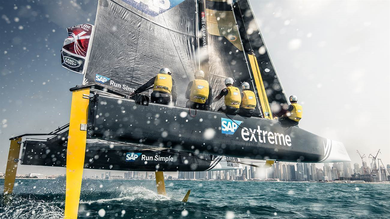 How extreme sailing uses analytics to stay on course