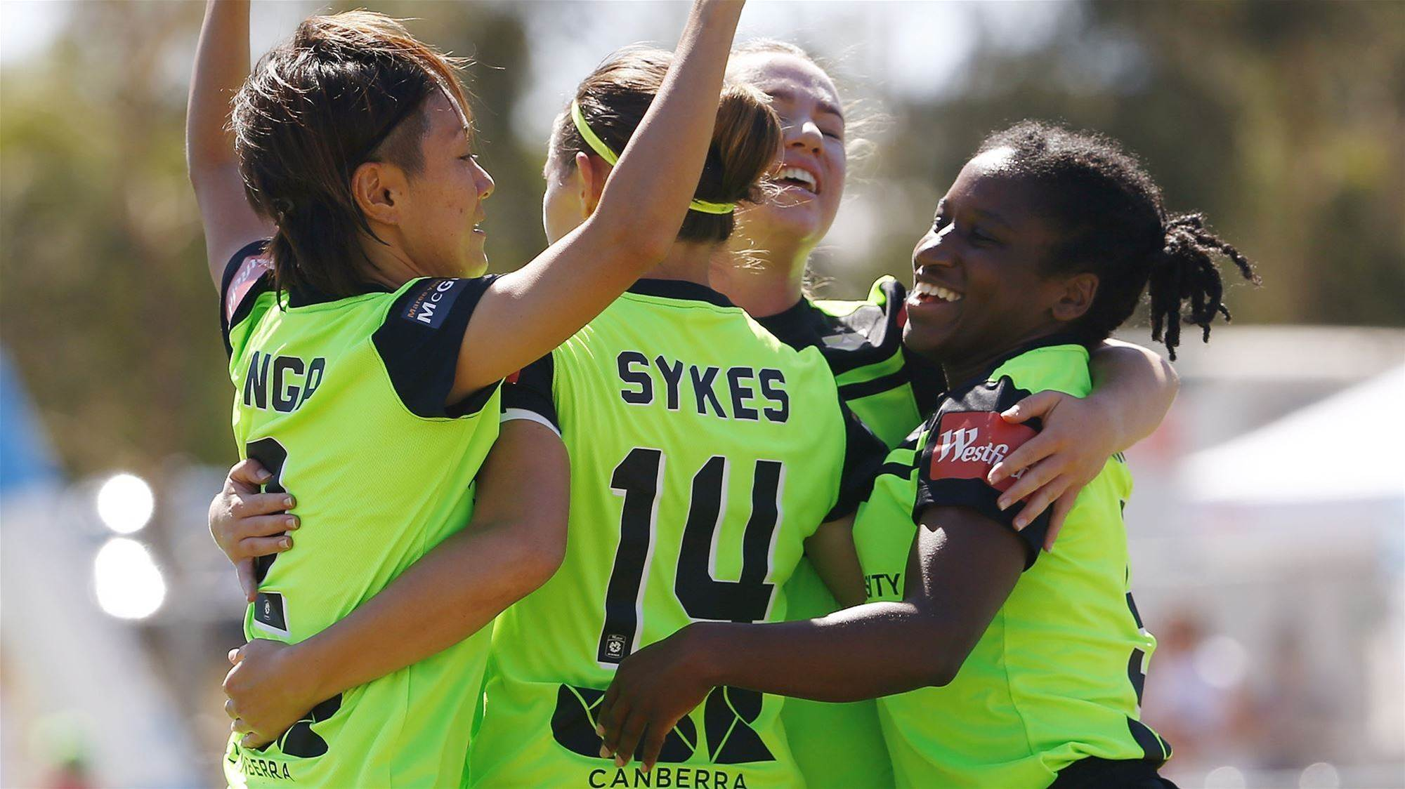 W-League: Goals galore in race for first