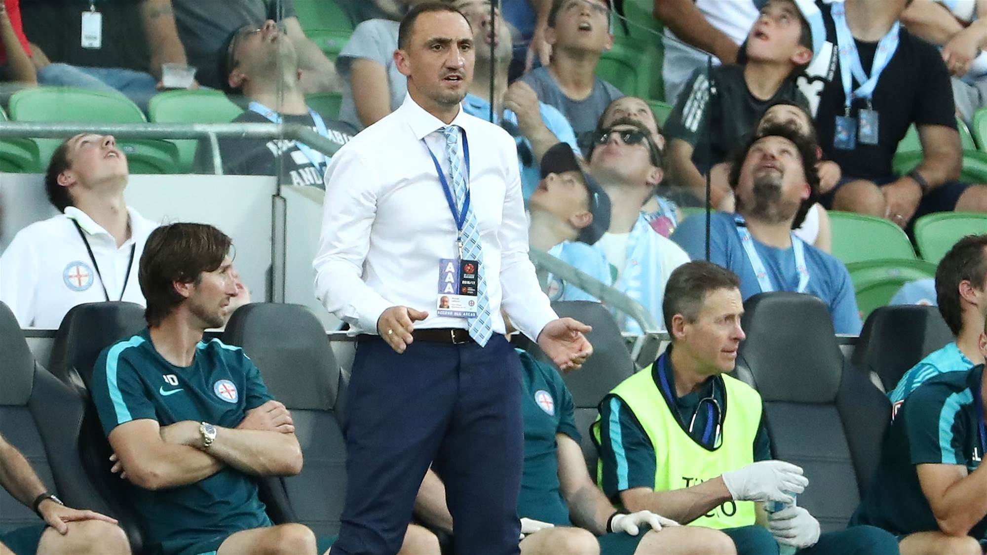 Valkanis still annoyed at Colazo disallowed goal