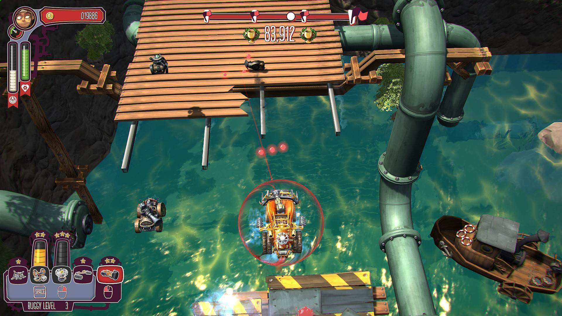 Pressure Overdrive looks like Micro Machines crossed with... something else fun?