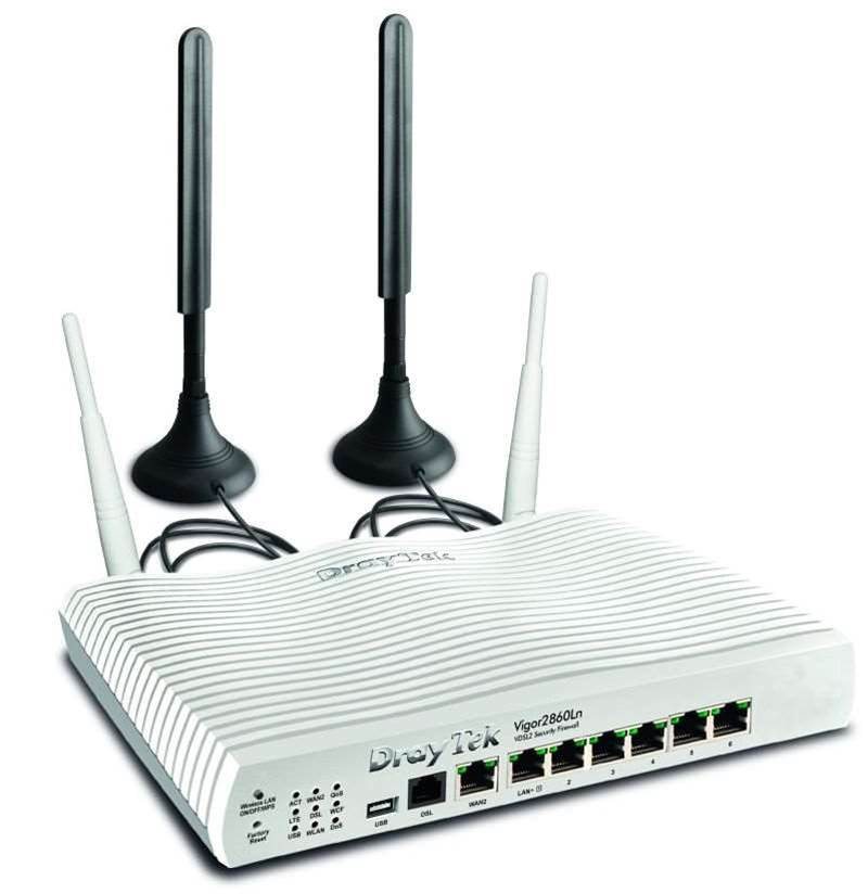 One Minute Review: DrayTek Vigor 2860Ln 4G VPN Firewall Business Router