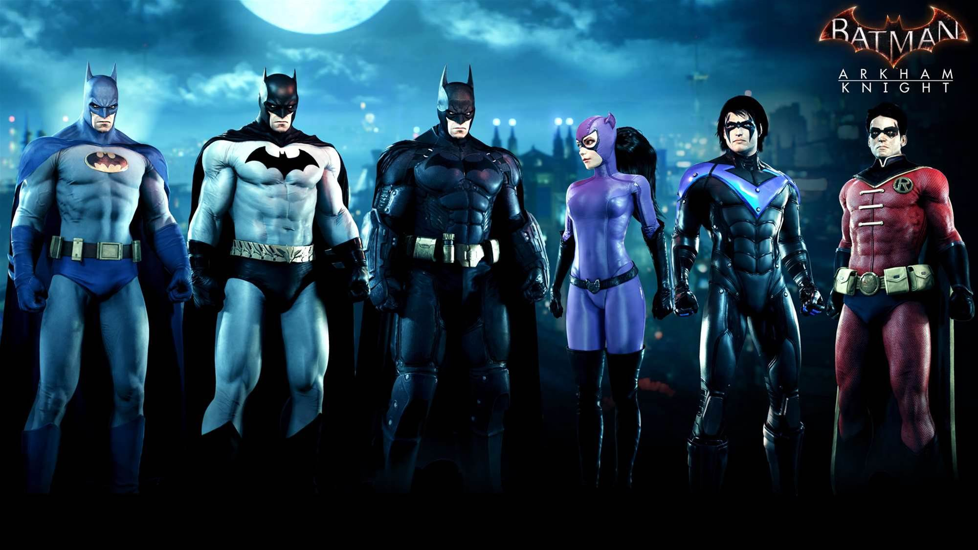 Rocksteady announces fan-chosen Arkham Knight DLC