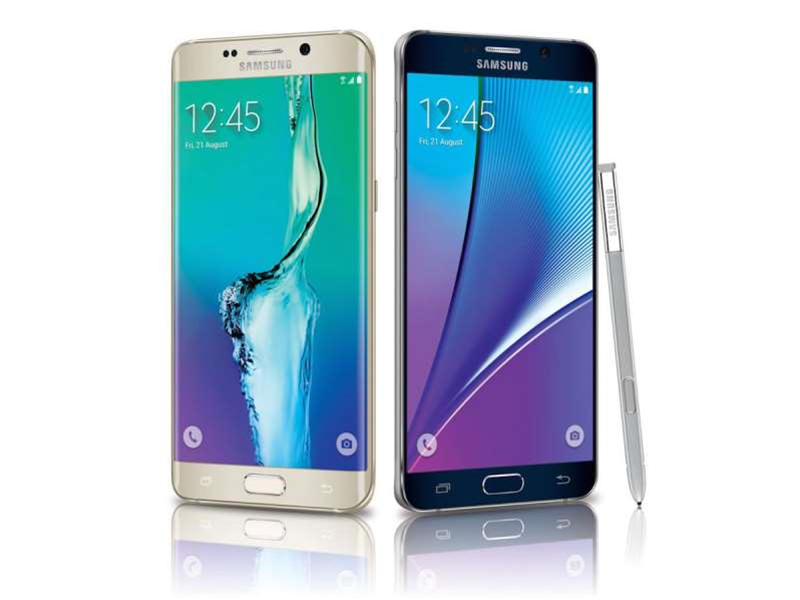 There's no 128GB option for the Galaxy S6 Edge+ and Galaxy Note 5