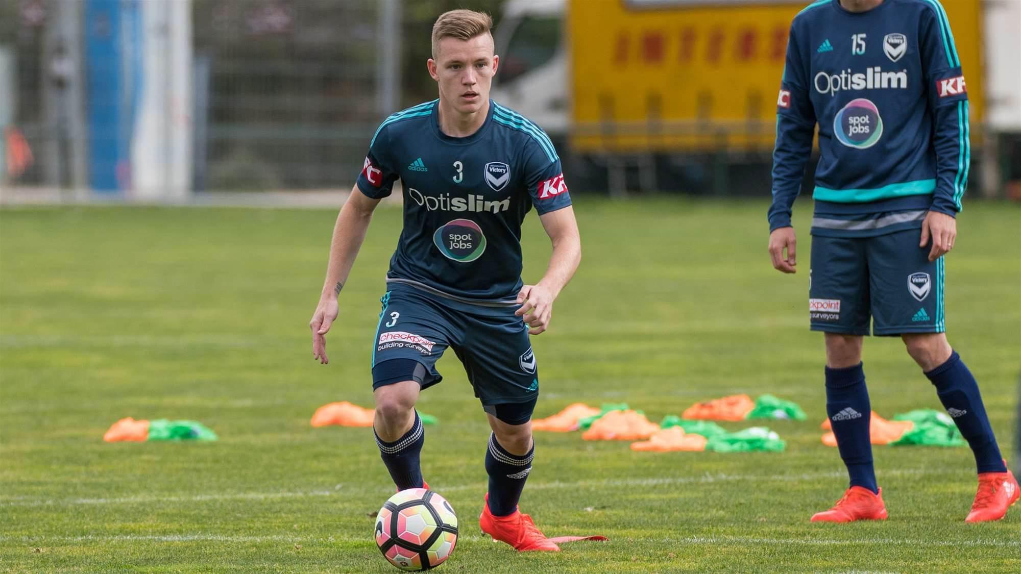 Victory defender exits club