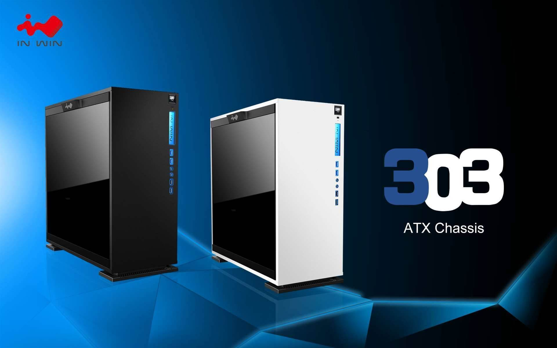 In Win reveals new 303 PC case, complete with tempered glass panels