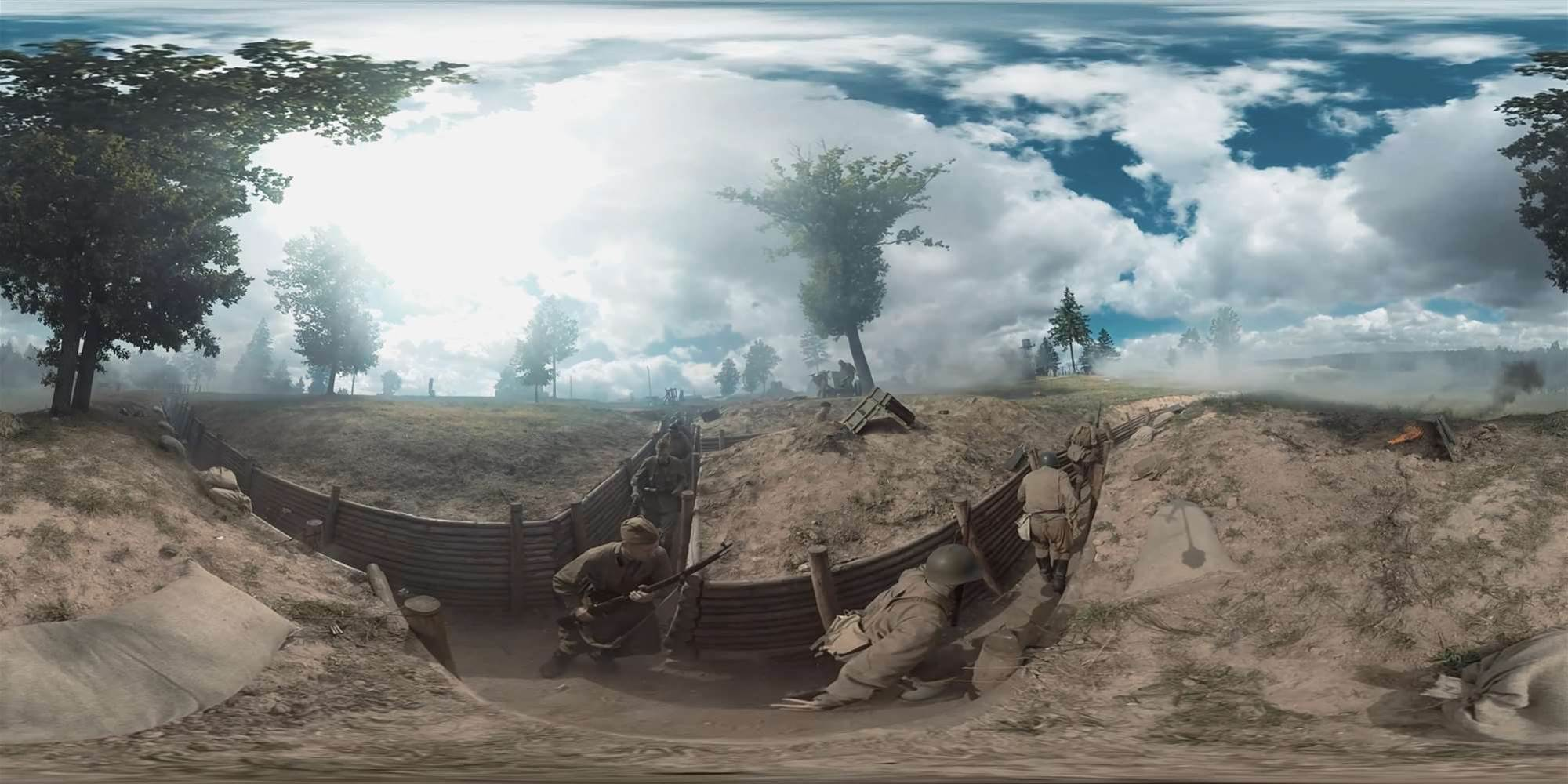 Wargaming releases awesome 360-degree World of Tanks live short