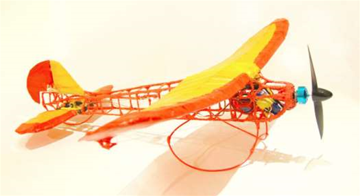 RC Plane Drawn With A 3D Printing Pen Really Flies