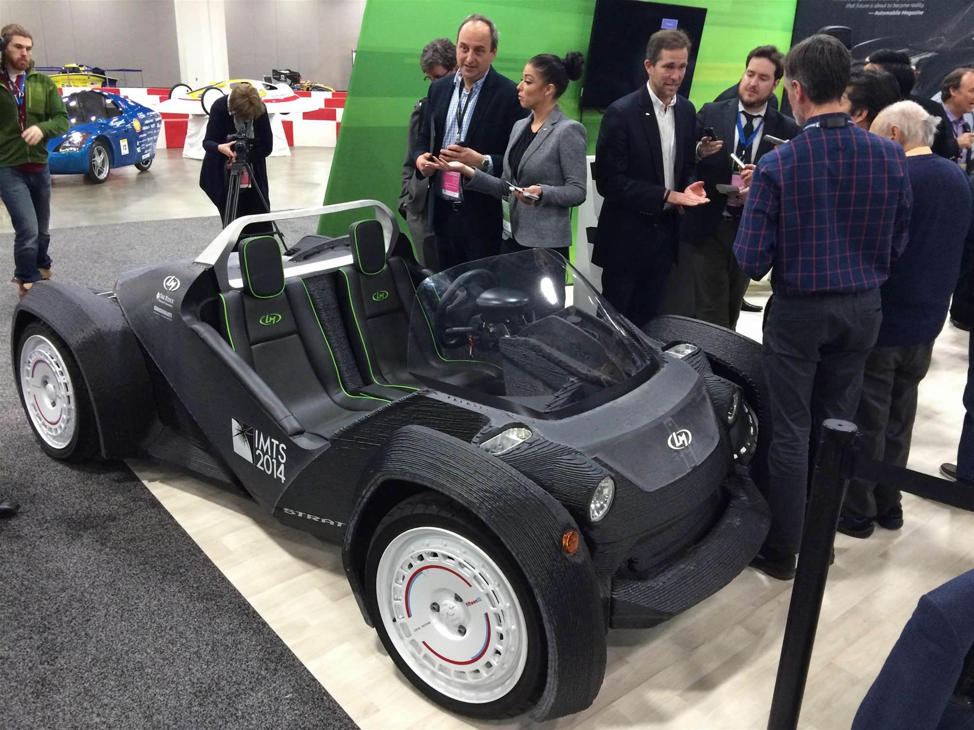 2015 Detroit Auto Show: You Might Be Able To Buy 3D–Printed Cars In A Year