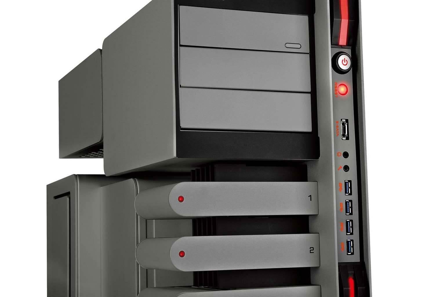 Thermaltake's new Level 10 Titanium is... a pretty serious PC case