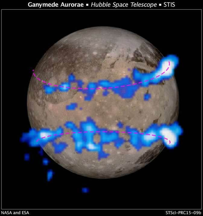 NASA: Ganymede Has A Saltwater Ocean