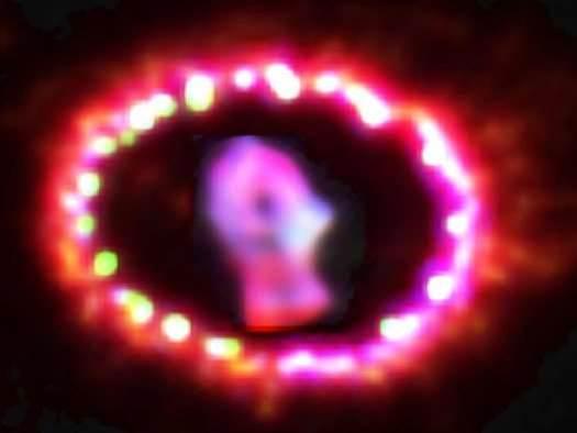 A Supernova Fades Gloriously into a Supernova Remnant
