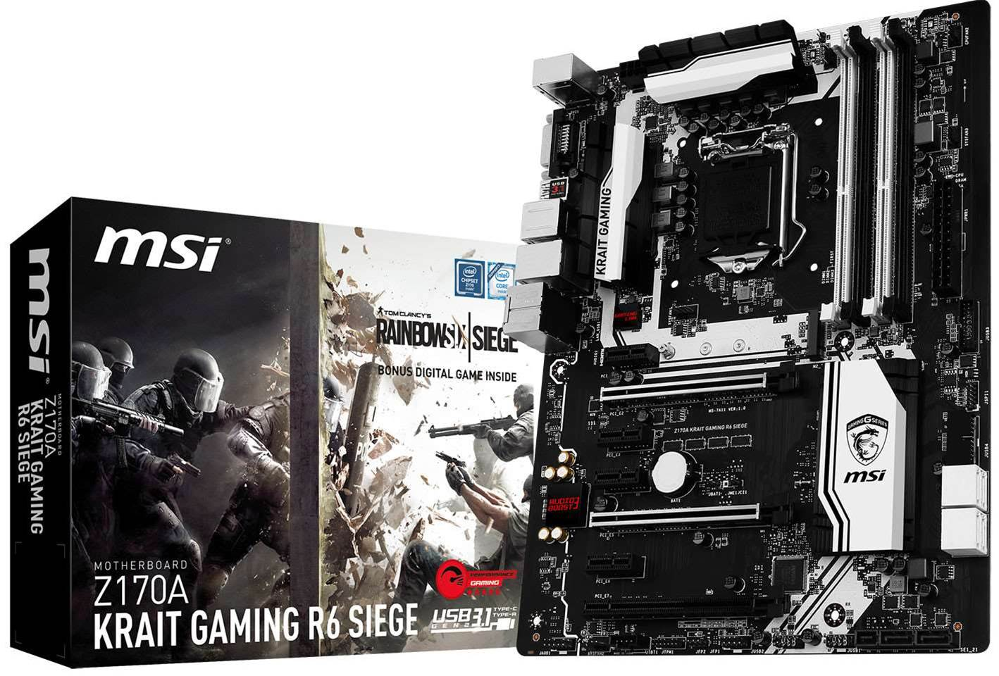MSI launches new Rainbow Six themed KRAIT motherboard