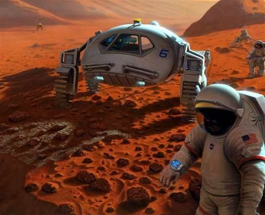 Future Mars Colonists Will Pack Their Power to Go in a Suitcase Nuclear Reactor
