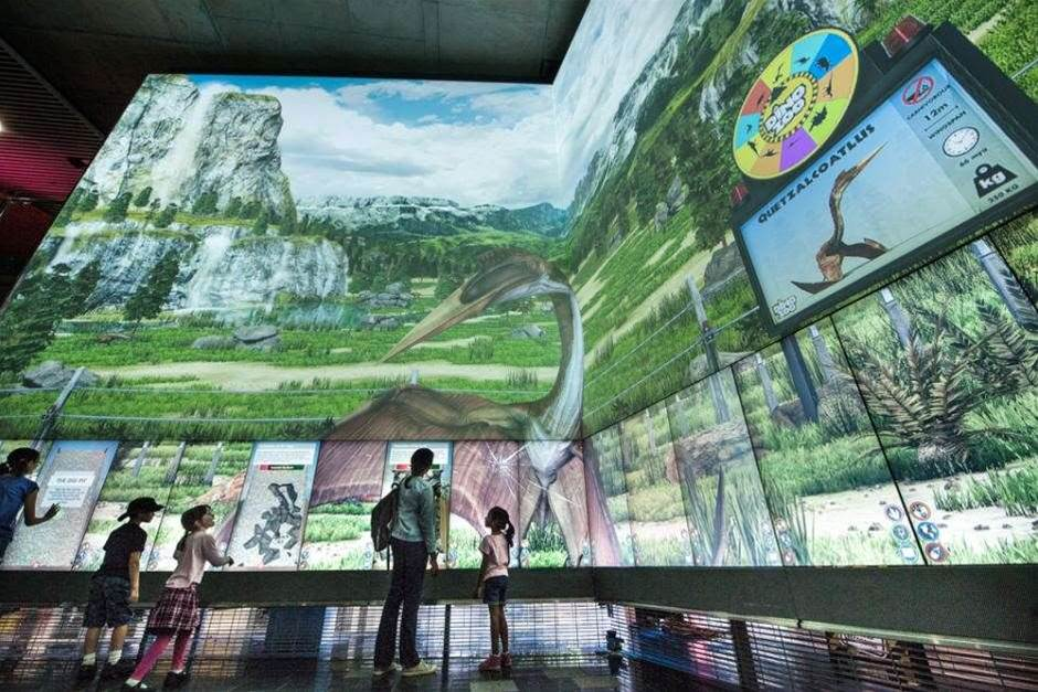 QUT uses sensors for interactive dinosaur exhibit