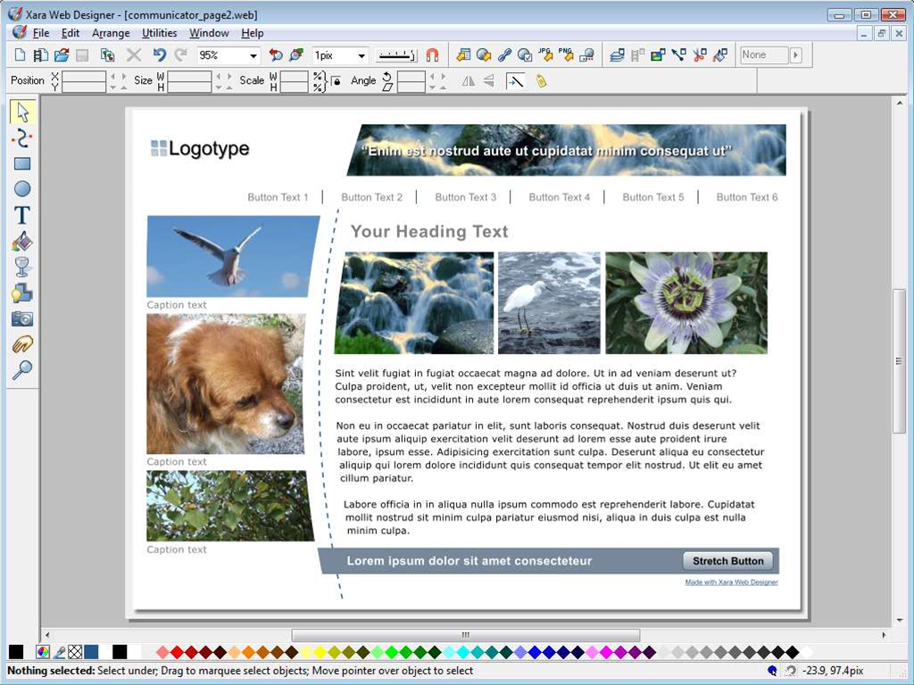 Xara Web Designer 10 now available