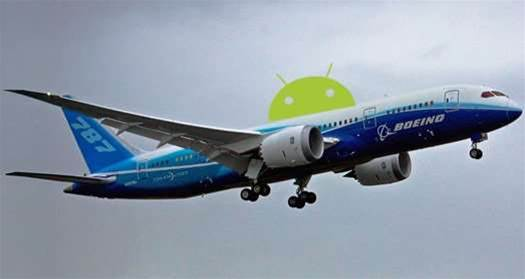 Boeing to Outfit New 787s With Android-Based Entertainment