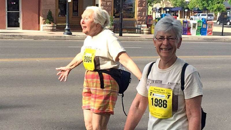I Did My First Race At Age 83!
