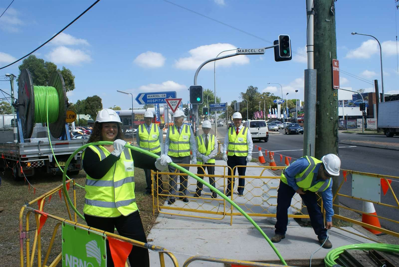 NBN lands in Western Sydney