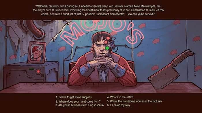 New game Bedlam to use The Banner Saga Game Engine