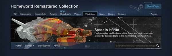 Yes, Homeworld Remastered Collection will support mods!