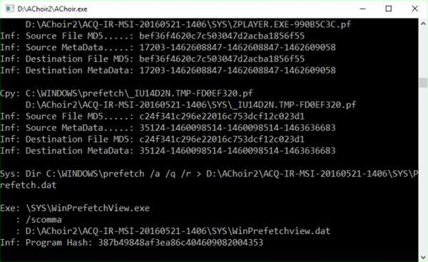 Need to know what someone's been doing on a PC? Create your own PC forensics toolkit with AChoir