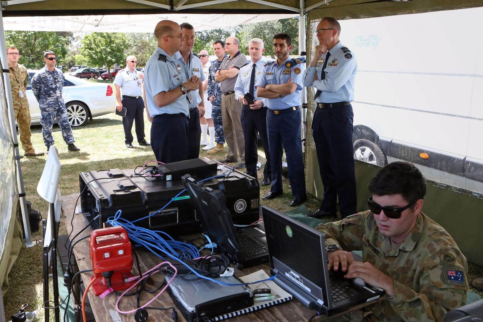 Defence trials long-distance HF wireless data comms