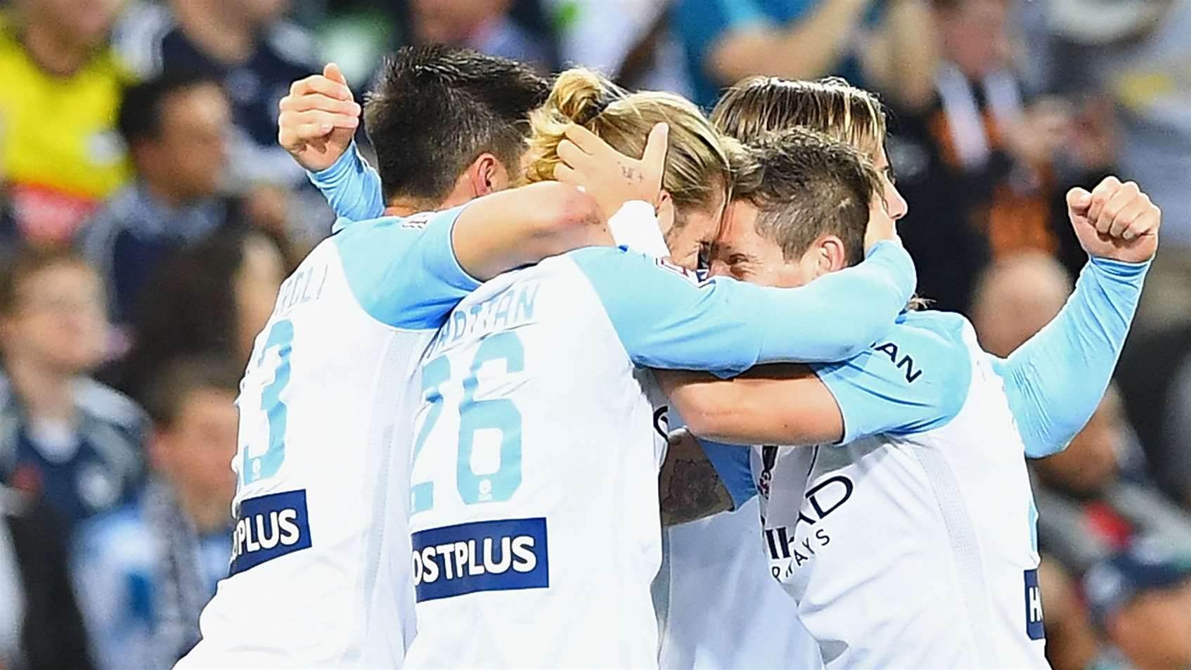 City seize victory to face Sydney
