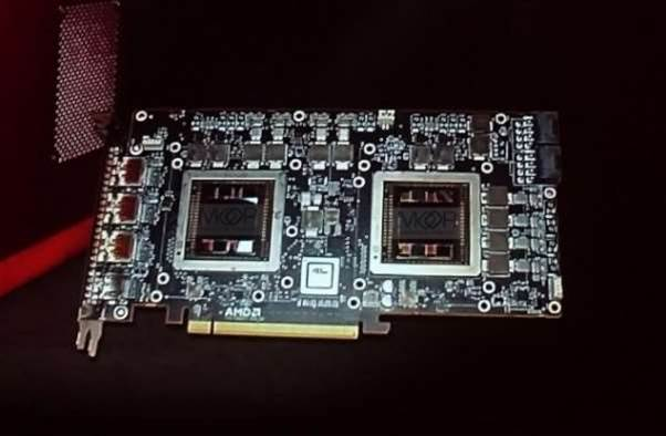 Is AMD's dual GPU Fiji card releasing sooner than expected?
