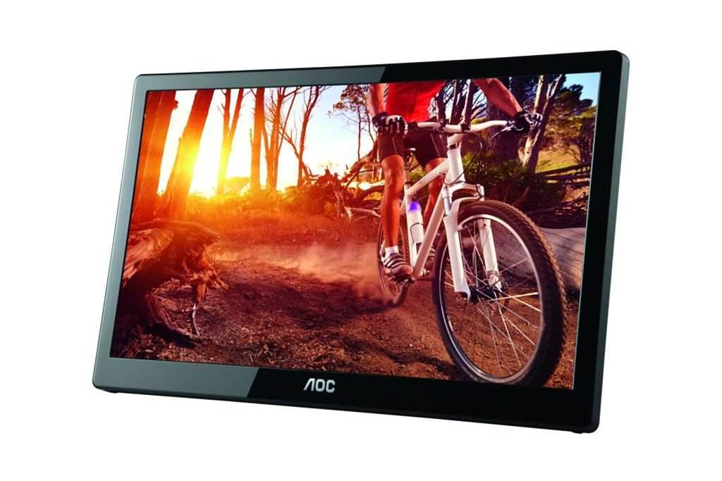 One Minute Review: AOC E1659Fwu LCD USB Monitor