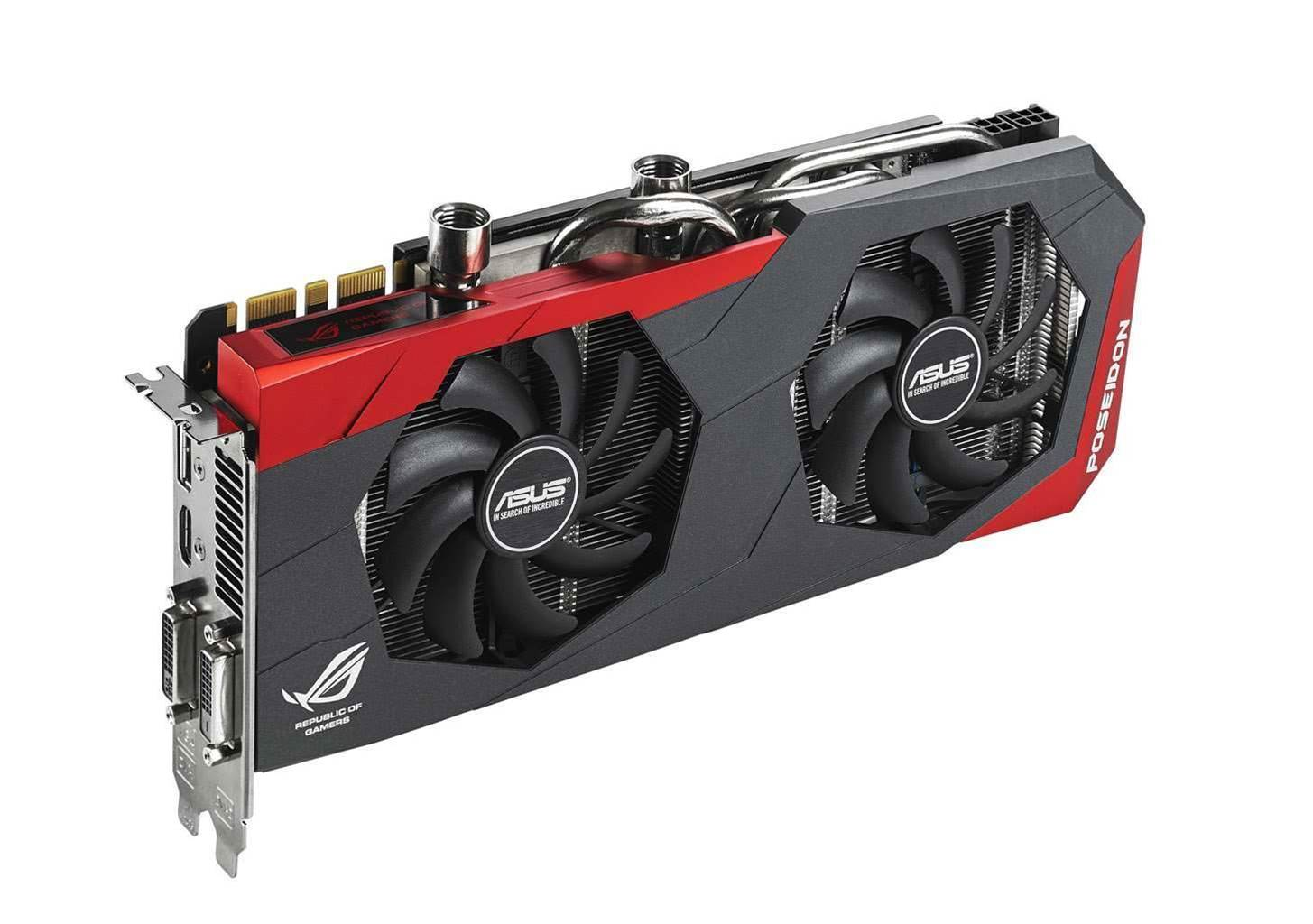 ASUS announce new water-cooled ROG VGA card - the Poseidon!