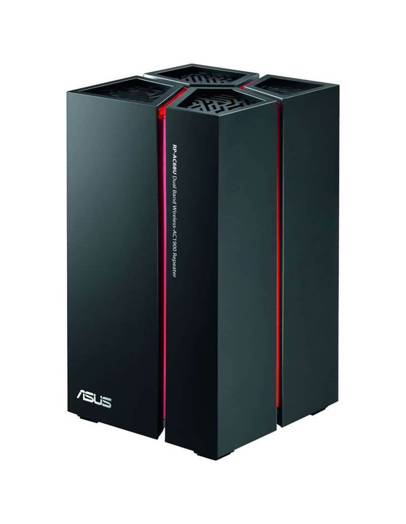 Review: Asus' RP-AC68U gets wireless signals further