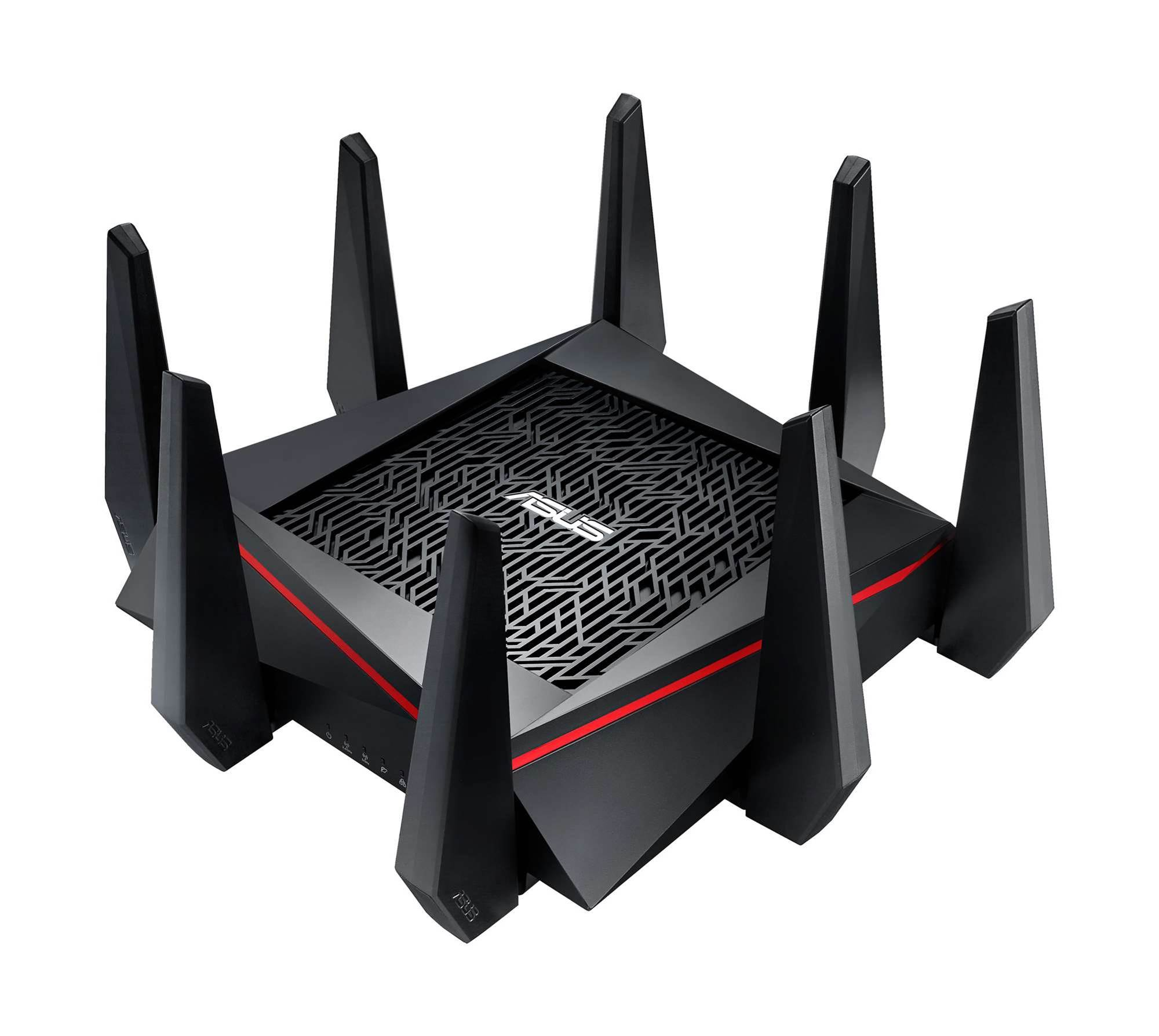 Asus releases the most outlandish router we've ever seen