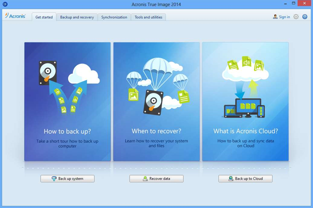 Acronis True Image 2014 fully integrates online backup, adds Premium edition