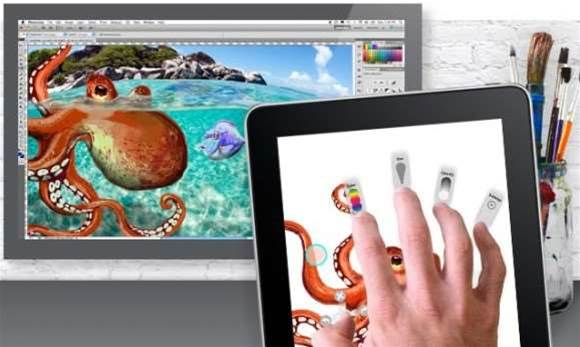 Adobe unveils touch version of Photoshop