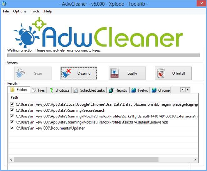 AdwCleaner 5.0 ships with new Windows repair tools
