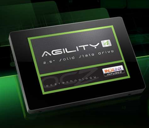 OCZ Announces 'Agility 4' Solid State Drives