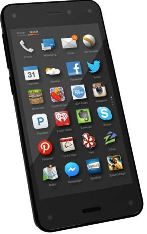 Amazon's Fire Phone unveiled