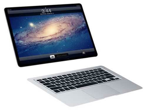 Is Apple planning an iPad-MacBook hybrid?