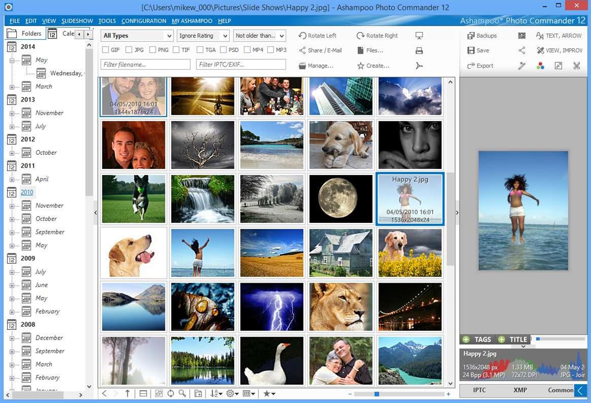 Ashampoo Photo Commander 12 extends cloud storage