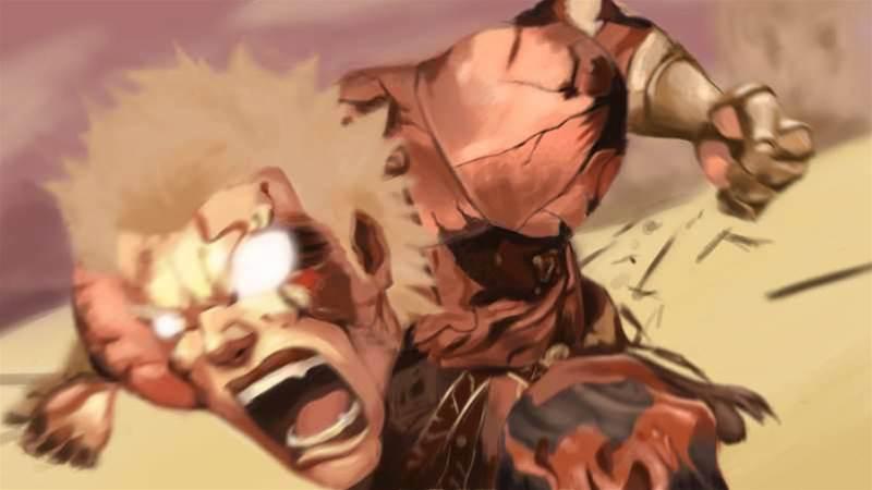 Asura's Wrath - angry, angry game