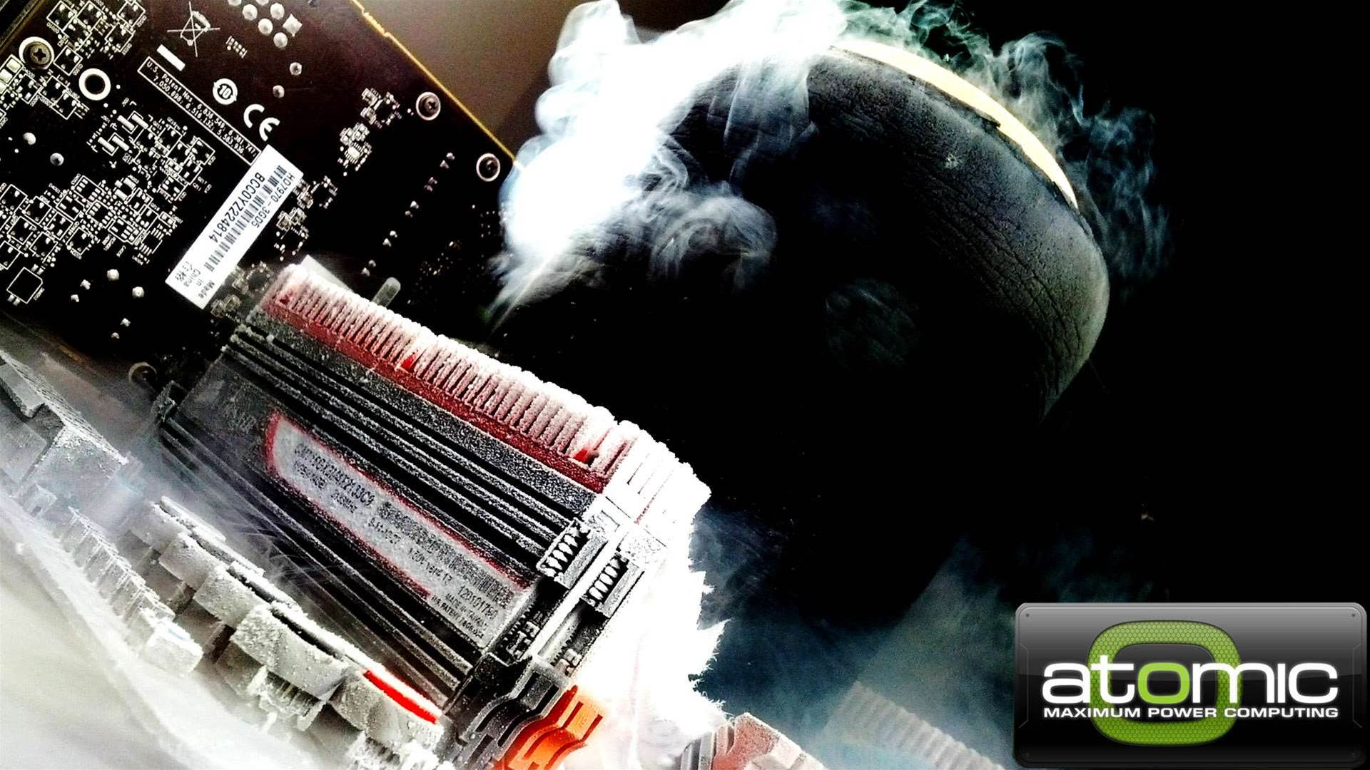 Come along to Atomic HQ for a night of EXTREME overclocking!